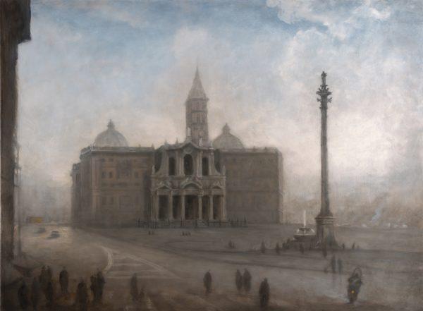 Church of St Maria Maggiore, Rome, 60 x 81 cm, 2013