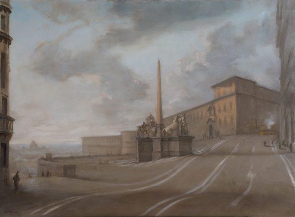 Il Quirinale, Rome 60 x 81 cm, 2013