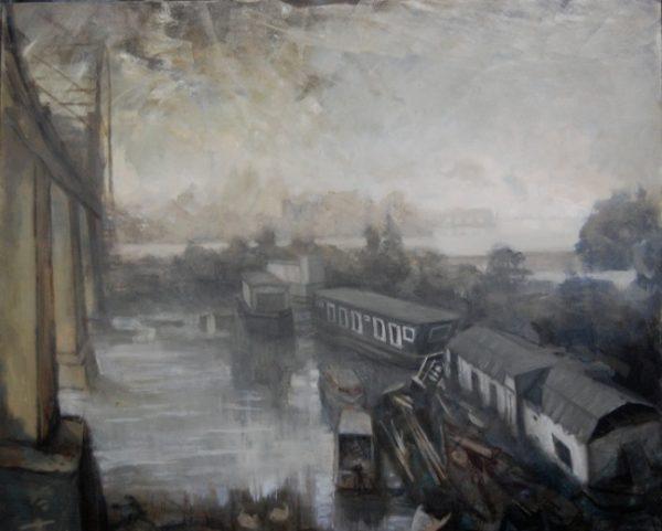 Amsterdamsebrug, Amsterdam, 194 x 137 cm, 2010