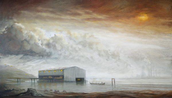 Rubbish Barges, Land & Water, Rainham