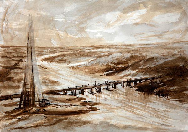The Shard, Protohistoric Thames, wooden London Bridge (2019)