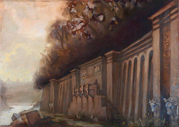 The Roman Emporium, Rome, 70 x 60 cm, 2012